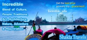 Perfect and Convenient India tour packages in Australia- Shakta Trave